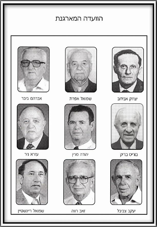 פרטיזנים ולוחמים יהודיים הועדה המארגנת